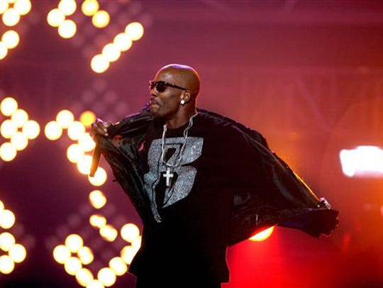 DMX at the 2011 BET Hip Hop Awards in Atlanta. The