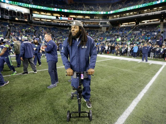 Richard Sherman missed the end of last year with an achilles injury. Social media posts by teammates indicate he may have played his last game with the Seahawks.