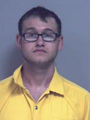Christian Sage Harris, 19, is one of three McConnellsburg
