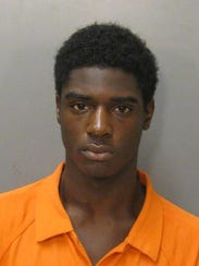 Kendarius Johnson is charged with five counts of robbery