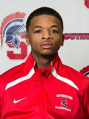 Khallid Edwards, 20, is a point guard for the Southwestern