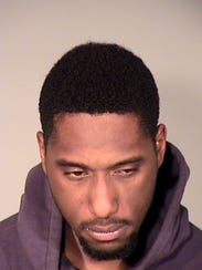 Jabari Evans, 24, of Los Angeles, was arrested on suspicion