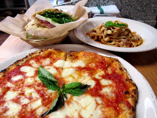Pizza, pasta and sandwiches at the new Mino pizzeria,