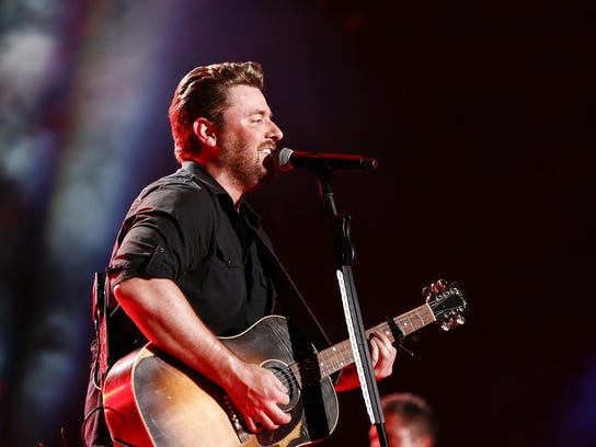 Chris Young performs June 13 in Nashville, Tenn.