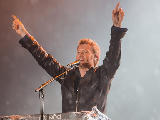 Magne (Mags) Furuholmen of a-ha performing at the 2015