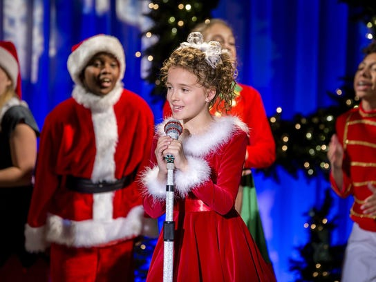 "Fina Strazza stars in ""A Christmas Melody,"" directed"