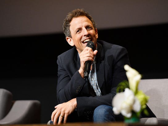 Catch comedian Seth Meyers at the Fox in a fundraiser