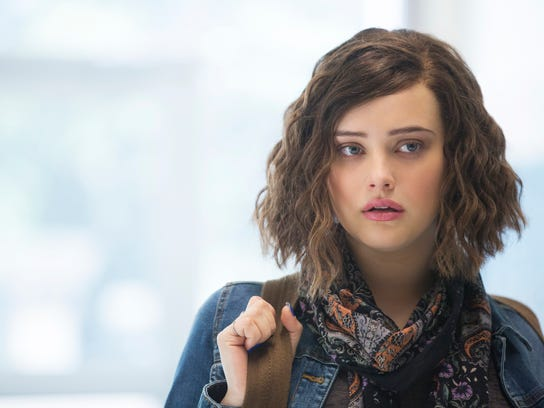 """Hannah, portrayed by Katherine Langford, """"13 Reasons Why."""""""