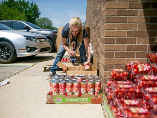 Macomb County Employee Kristin Wolf of Sterling Heights