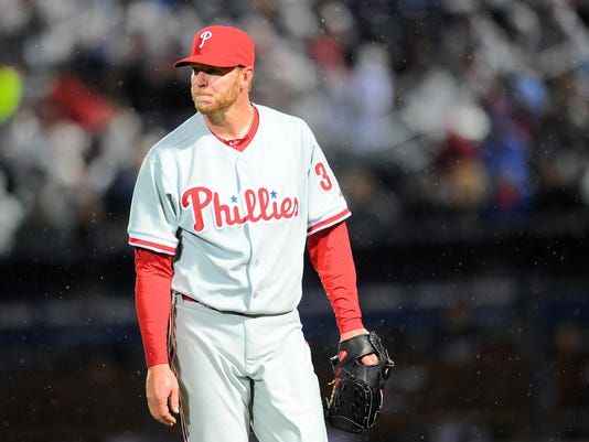 USP MLB: PHILADELPHIA PHILLIES AT ATLANTA BRAVES S BBN USA GA