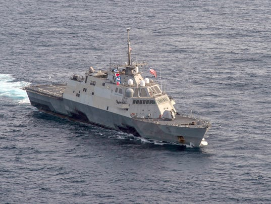 Littoral combat ship USS Fort Worth (LCS 3)