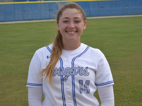 Chloe Freischmidt, Barron Collier softball