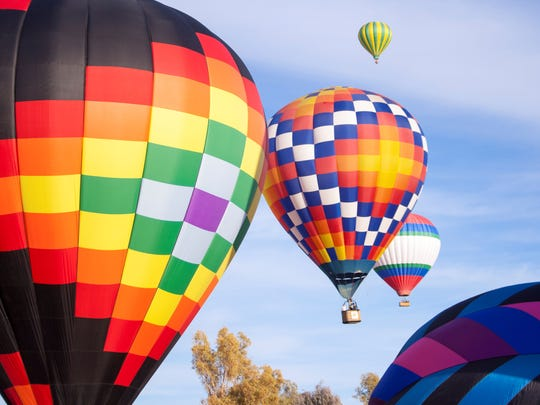 The Havasu Balloon Festival and Fair will feature 84 colorful balloons.