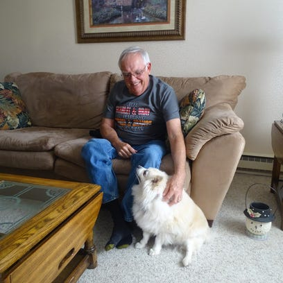 Randy Albertson, 65, credits a friend with saving his
