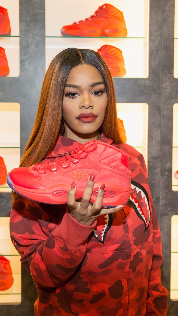 There s still a chance to buy Teyana Taylor s Reebok Question Mid sneakers a2223abd7