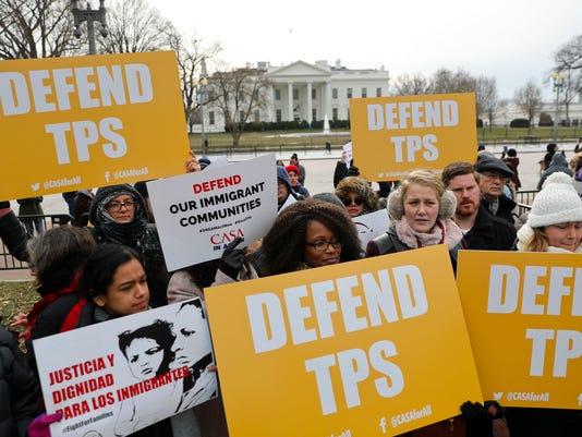 AP TRUMP EL SALVADOR A USA DC