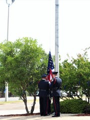 Following the reading of the names of the 14 Texas