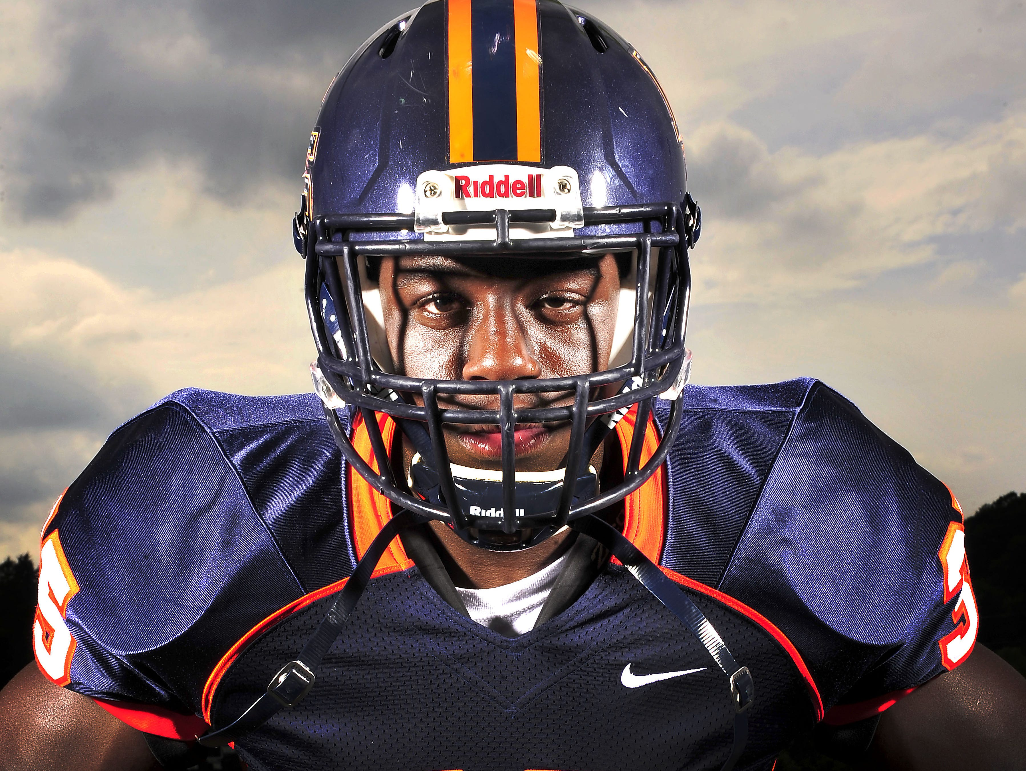 Nashville Christian senior Daniel Bituli, No. 1 on The Tennessean's 2015 Dandy Dozen, is committed to play football at the University of Tennessee.