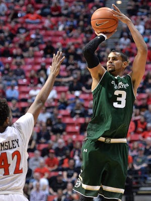 CSU's Gian Clavell, who scored a career-high 37 points Saturday night in a win over San Diego State, was named the Mountain West Men's Basketball Player of the Week on Monday.