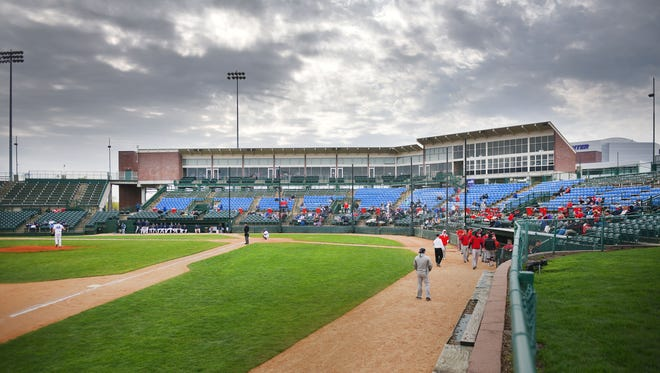 Augustana plays St. Cloud State in the NSIC baseball playoffs Thursday, May 10, at Sioux Falls Stadium.