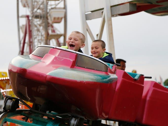 Scenes from the Broome County Fair in Whitney Point