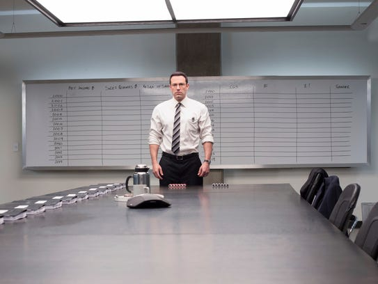 Ben Affleck plays a killer CPA in 'The Accountant.'