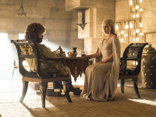 Daenerys Targaryen (with Tyrion Lannister)