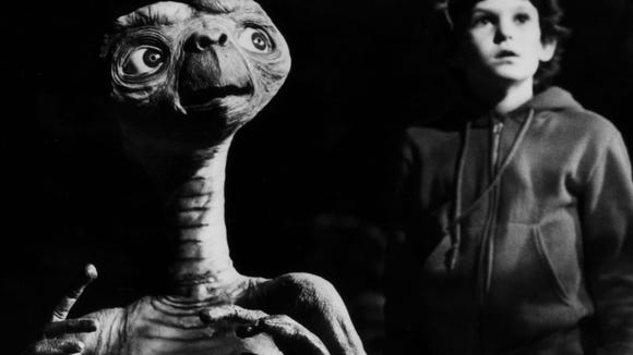 """E.T., The Extraterrestrial"" plays tonight."