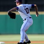 LSU Tigers pitcher Aaron Nola set a career high with 13 strikeouts in a 5-3 win over Arkansas.