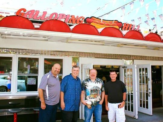 Jim Ferrigno, Erwin 'Benzee' Benz, Dan Heimeiller and