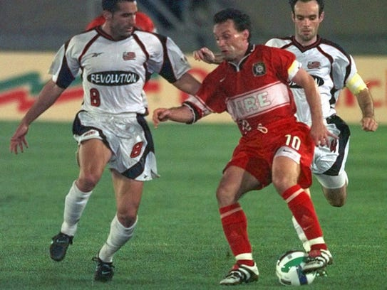 Peter Nowak led the Chicago Fire to an MLS Cup win