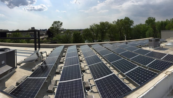 More than 500 solar panels have been installed at Arcadia Brewing Co.'s Kalamazoo location, the company announced Wednesday.