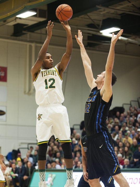 UC Santa Barbara vs. Vermont Men's Basketball 12/16/15
