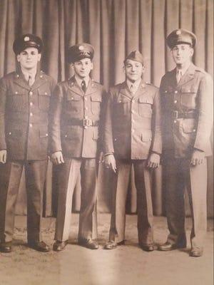 From Left to Right, Joseph A. Concino Jr., Ernie Concino, Frank Concino, John Concino