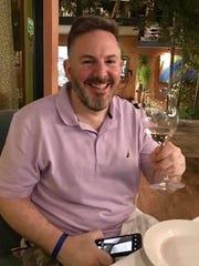 Michael Politz at Mares Restaurant.