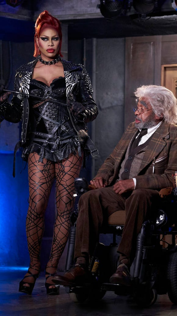 Laverne Cox and Ben Vereen  star in Fox's 'Rocky Horror