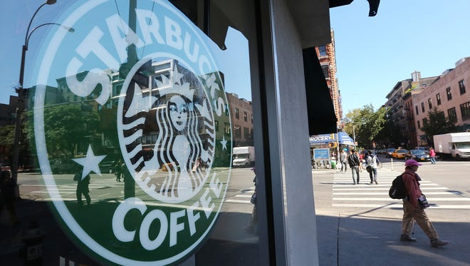 Starbucks has been chosen as the top first date place in a survey by the dating app Clover.