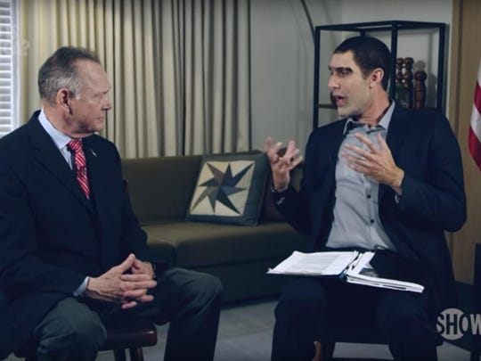 Former U.S. Senate candidate Roy Moore says he didn't know he was dealing with comedian Sacha Baron Cohen when he agreed to appear on a television show, his lawyers wrote in court filings last month.