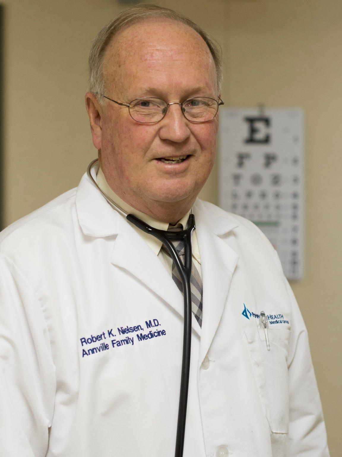 Dr. Robert Nielsen, a founding partner in Annville