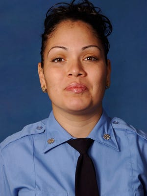 This undated photo provided by the Fire Department of New York shows FDNY emergency medical technician Yadira Arroyo, 44, who was killed after a man commandeered an ambulance and ran over her on March 16, 2017.