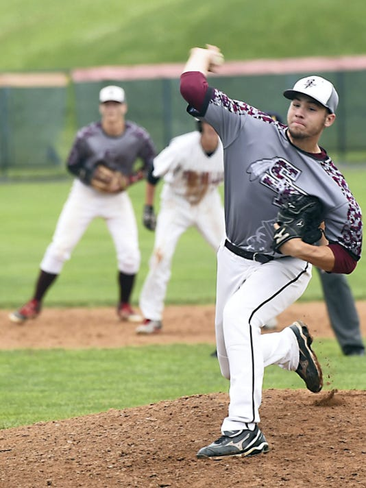 Southern Fulton's Trent Rider (27) had a standout junior season. He finished with a 9-1 record, a 1.27 ERA with 108 strikeouts and just four walks to lead the Indians to the PIAA Class A semifinals.