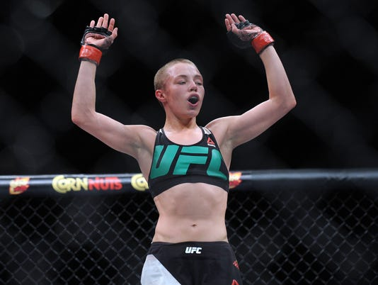 USP MMA: UFC FIGHT NIGHT-VANZANT VS NAMAJUNAS S OTH USA NV