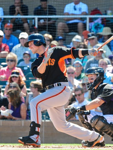 Buster Posey hit a major-league leading .354 after