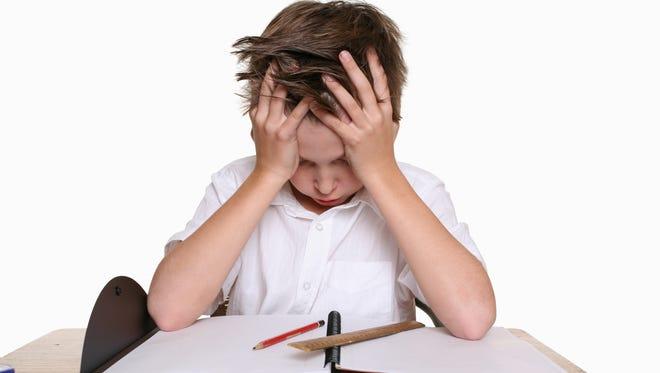 Too much homework!