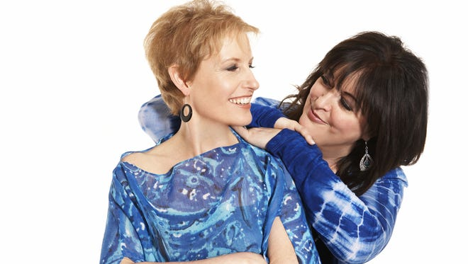 Siblings Liz Callaway (left) and Ann Hampton Callaway are regulars on the Manhattan cabaret circuit.