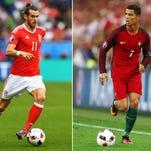 Cristiano Ronaldo, estrella de Portugal.
