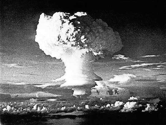 The United States exploded the first hydrogen bomb,