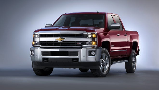 The 2015 Silverado 2500 features an all-new exterior designed to reduce wind noise and enhance powertrain cooling for more consistent performance.  The all-new interior is quiet and comfortable, with ample storage for work or travel and the intuitive connectivity of Chevy MyLink.  Customers can chose from gasoline, CNG or diesel power, including the legendary Duramax turbodiesel and Allison transmission.