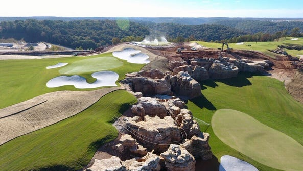 The Gary Player course