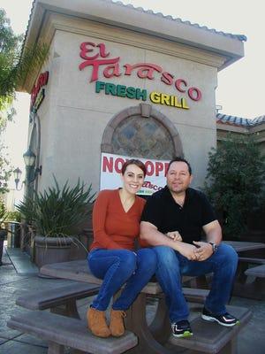 Saul Espinoza and wife Maria Marallanes opened El Tarasco Fresh Grill at Plaza Drive and Goshen Avenue - the heart of Visalia's industrial park.